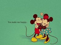 You make me happy!