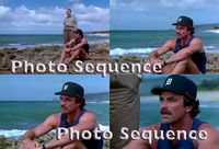 MAGNUM Tom Selleck John Hillerman PHOTO Sequence #01