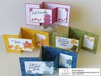 A few weeks back I shared some Z-fold cards using the Colorful Seasons bundle. They have been HUGELY popular on my blog since. You can see the original post HER