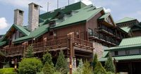 The Villas at Disney's Wilderness Lodge is a full-service Disney Deluxe Villa Resort housed in a 5-story tower adjacent to the main lobby at Disney's Wilderness Lodge. Villas feature home-like amenities, such as a full kitchen or a kitchenette.