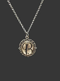 Antique Inspired Initial Necklaces $10.00