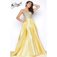 Haute Pink Mac Duggal 62730M - Ball Gowns Mermaid Long Dress - Customize Your Prom Dress