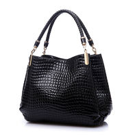 2016 Designer Handbag Women Leather Handbags Alligator Shoulder Bags High Quality Hand Bag Bolsas Feminina Womens Bag Sac A Main $33.20