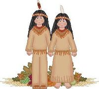 cute clip art piece for newsletter-Native American Indians Theme at Little Giraffes Teaching Ideas