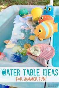 Kids and water are a natural combo during summertime. Finding new ways to create playful water fun for toddlers can be at the heart of your activities!