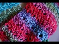 Ever wanted to learn how to crochet the Broomstick Lace Stitch? Now is your chance to follow along. Use a broomstick or large knitting needle to create the sweeping effects. This stitch is much easier than your realize. Your challenge will be with the han...