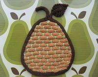 Per Orla, a pear-shaped dishrag