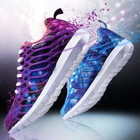 New Breathable Running Shoes Sports Shoes for Men and Women Unisex Shoes Dream Color Mesh $53.99