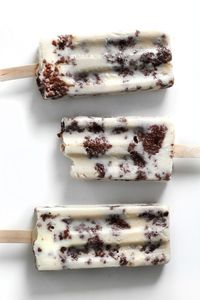Brownie and milk popsicle. Hell yes.