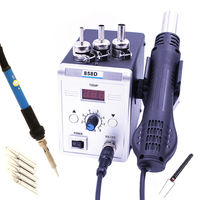 858D 700W Hot Air BGA Rework Soldering Station Electric Soldering Iron 220V / 110V for SMD SMT Welding Repair
