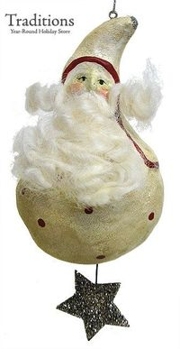 Nicol Sayre's Creation....Old World/Days Gone By Christmas Ornament.....very Folkart!!!