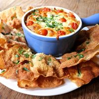 """The Hot Mess"" Cheesey Dip"