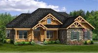 Rustic House Plan With Walkout Basement - 3883JA | 1st Floor Master Suite, Bonus Room, Butler Walk-in Pantry, CAD Available, Corner Lot, Craftsman, Den-Office-Library-Study, Jack & Jill Bath, MBR Sitting Area, Media-Game-Home Theater, Mountain, Northw...