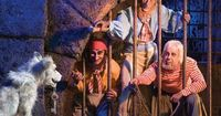 Pirates of the Carribean. Will be going on this ride more than once. A favourite to be sure.