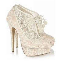 Sexy Lace Upper Platform Stiletto Heels Prom/Evening Shoes