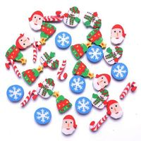 Pack of 30 Mini Assorted Christmas Erasers. Novelty Rubbers. Xmas Correction Supplies. Children Stationery. Party Bags & School Pencil Case £3.49