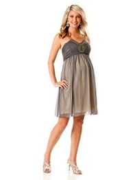 What do we think? I know not the color probably....maternity dresses are so hard to find!