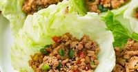 I don't know how many years it's been that I've said I'm going to try making Asian lettuce wraps at home and I've finally done it! I went the simplified...