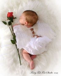 Newborn Baby Angel with Rose | Cupid | Valentine's Day Portrait Poses | Photo Idea | Photography | Cute Kid Pic | Baby Pics | Posing Ideas | Kids | Children | Child | ~Bountiful Utah Photographer close to Salt Lake City | Ogden | Provo UT~