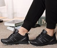 Breathable Sneakers Men Running Walking Athletic Shoes More Info:https://cheapsalemarket.com/product/breathable-genuine-leather-sneakers-men-running-walking-athletic-shoes/