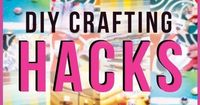 DIY Craft HACKS �œ� Many Easy Craft Projects, Organization and Storage IDEAS! All Affordable and Cheap - YouTube