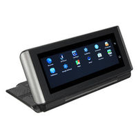 6.86 Inch HD Touch GPS Car DVR Dual Camera WiFi Bluetooth Video Recorder Voice Reversing