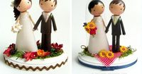 """I think these are adorable, but don't think a topper is """"me"""" again. this etsy shop makes them for $125 ea (OUCH! - shipping NOT included) but they are ultra cute... http://www.etsy.com/shop/enchantedbelles?section id=6896462 This is ..."""