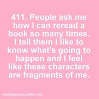 I've read the third Harry Potter book 17 times.
