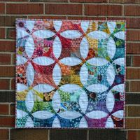 freshmanquilter: �€œ Flowering Snowball Mini: Quilt by jenjohnston on Flickr. �€