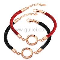 Gullei.com Custom Engraved Friendship Charm Bracelet Sterling Silver