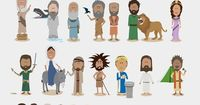 A very cute illustration of some of the most important stories from the bible. While it's not comprehensive, it would make a handy reference chart in a classroom when discussion allusion. I'd love to see a companion poster for Greek mythology, and...