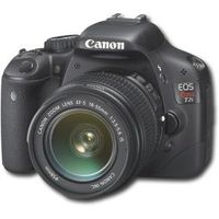 Canon - EOS Rebel T2i 18.0-Megapixel DSLR Camera with EF-S 18-55mm Lens - Black ($650)