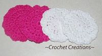 Crochet Creative Creations- Free Patterns and Instructions: Crochet dishcloth and scrubber