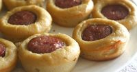 24/7 Low Carb Diner: Sausage Roll Bites Not only would these make a great breakfast treat, they'd also be great appetizers!