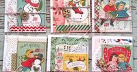 Mish Mash: Christmas cards in the making... October Afternoon