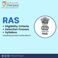 RAS is a special exam for the position of administrative services in the state of Rajasthan.