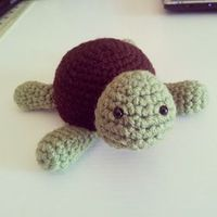 Kristen's Crochet: Small Turtle Pattern
