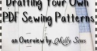 Resources for how to make sewing patterns and how to make PDF sewing patterns