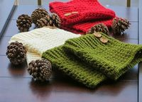 Free Boot Cuffs Pattern - For the Love of Crochet Along