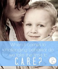 How to figure out the source of your child's challenging behavior so that you can respond to the real cause. This is how to make a real difference with behavior!
