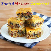 Stuffed Mexican Cornbread