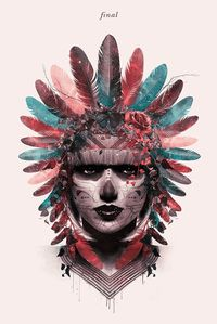 Inah by caca borges, via Behance