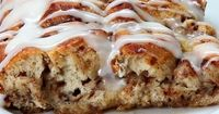 Making this this morning, with a few additions & refinements (Adding maple sausage & bacon crumbles, etc...) Cinnamon Roll French Toast Bake