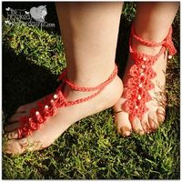 Ravelry: FREE PATTERN - Seaside Barefoot Sandals pattern by The Hooked Haberdasher