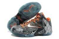 Affordable Fashion Nike Collection Air Max LeBron XI BHM Basketball Shoes Outlet For Men in 99370 - $94.99