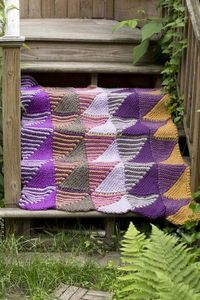 Free Knitting Pattern: Mountain Mists Afghan