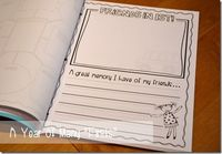 End of the Year Memory Books (Kindergarten, First Grade, and Second Grade versions)