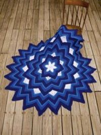 Six-Point Star Afghan