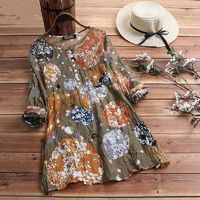 Floral Printed Tunic Top $17.99
