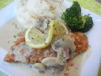 Lemon Chicken Costoletta--a Cheesecake Factory favorite made from home.